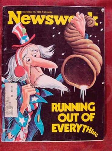 Cover, Newsweek magazine
