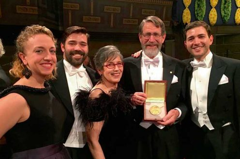 After the Nobel Prize award ceremony
