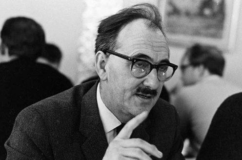 Brian Hartley in 1969.