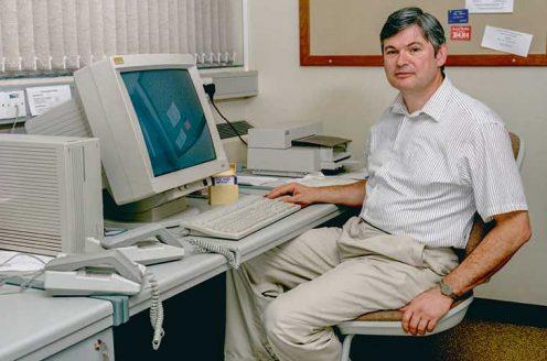Alan Fersht in early 1990s