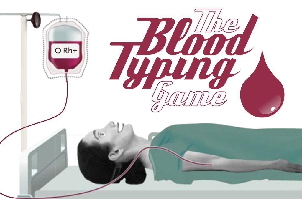 Blood typing game