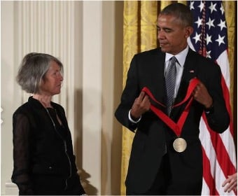 Louise Glück and Barack Obama