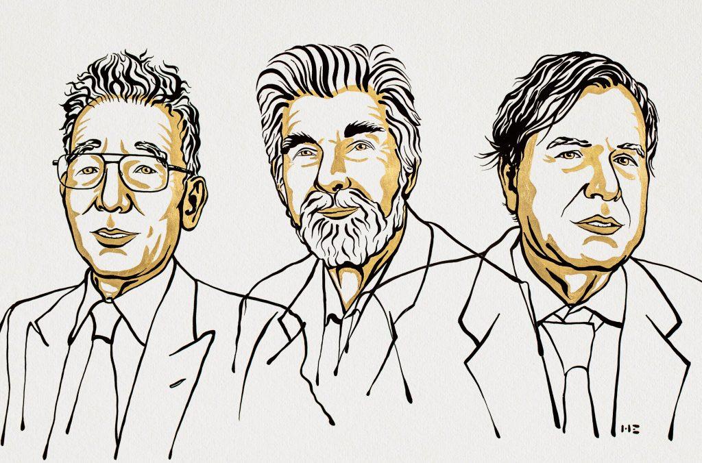 Syukuro Manabe, Klaus Hasselmann, and Giorgio Parisi